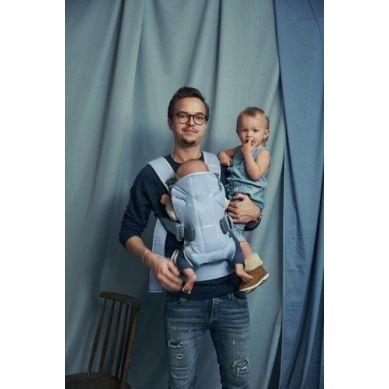 BabyBjorn - Nosidełko One Błękitny/Jasny Szary