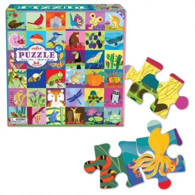 Eeboo - Puzzle 64 Nature