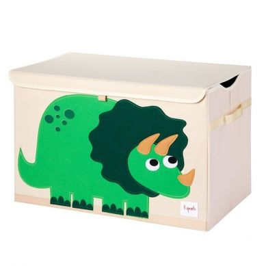 3 Sprouts - Pudełko Zamykane Dinozaur Green
