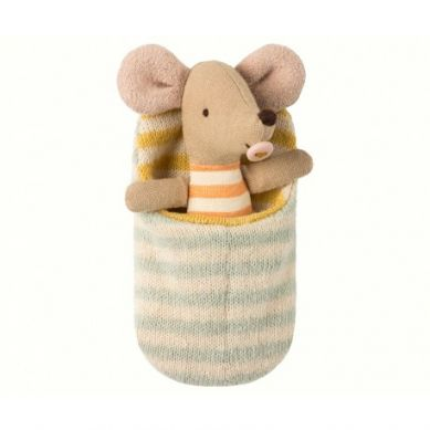 Maileg - Przytulanka Myszka Baby w Śpiworku