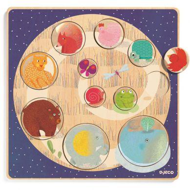 Djeco - Gra Edukacyjna do Nauki Kolorów Ludi & Co