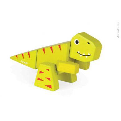 Janod -  Drewniany do Złożenia Tyranosaurus