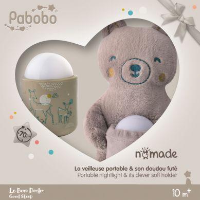 Pabobo - Lampka Nomade Zestaw Prezentowy
