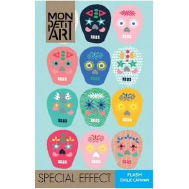 Mon Petit Art - Książeczka z Naklejkami Flash