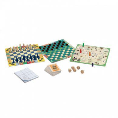 Djeco - Zestaw 20 Gier Classic Box