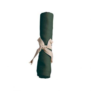 Filibabba - Pieluszka Muślinowa Dark Green 65x65cm