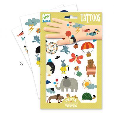 Djeco - Tatuaże Malutkie Rzeczy