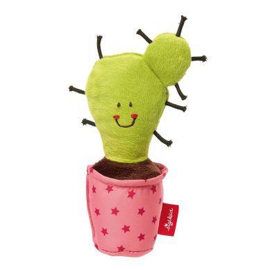 Sigikid - Miękka Piszczałka Kaktus w Różowej Doniczce Red Stars
