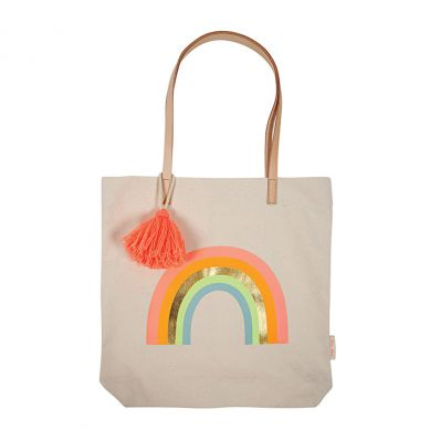 Meri Meri - Shopper Bag Canvas Rainbow