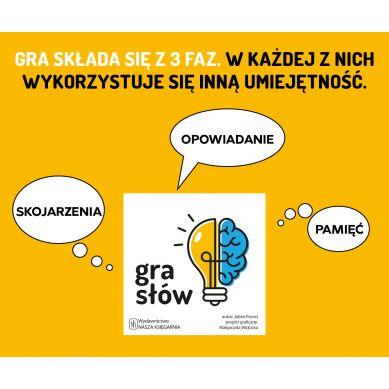 Wydawnictwo Nasza Księgarnia - Gra Słów 5+