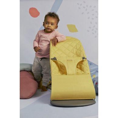 BabyBjorn - Leżaczek Bliss Cotton Żółty