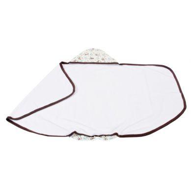 Poofi - Ręcznik z Kapturkiem Miś 130x75cm