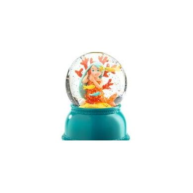 Djeco - Lampka Kula Śnieżna Syrenka