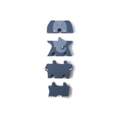 Trixie - Drewniane Puzzle Mrs Elephant