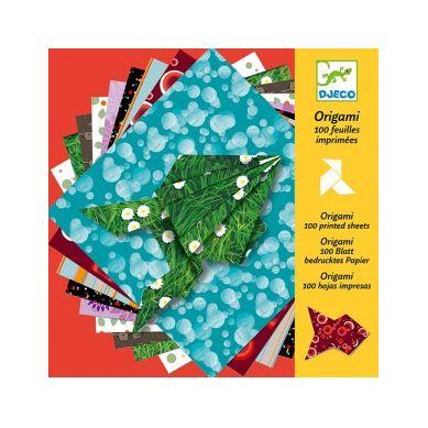 Djeco - Origami Kolorowy Papier