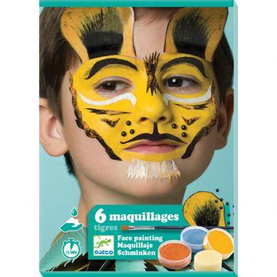 Djeco - Farby do Malowania Twarzy Tiger
