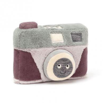 Jellycat - Przytulanka Aparat fotograficzny Wiggedy 17cm 0m+