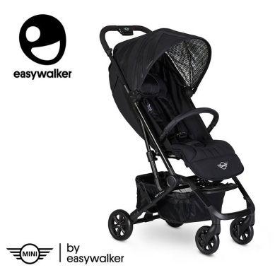 MINI by Easywalker - Buggy XS Wózek Spacerowy Z Osłonką Przeciwdeszczową Oxford Blue