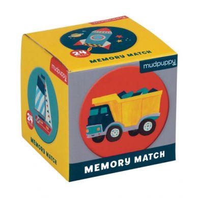 Mudpuppy - Gra Mini Memory Środki Transportu