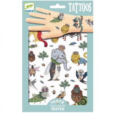 Djeco - Tatuaże Zwierzęta
