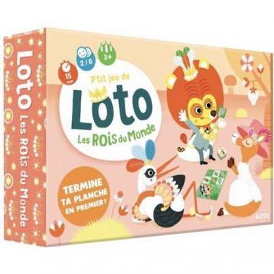 Auzou - Gra Lotto Zwierzątka Świata 3+