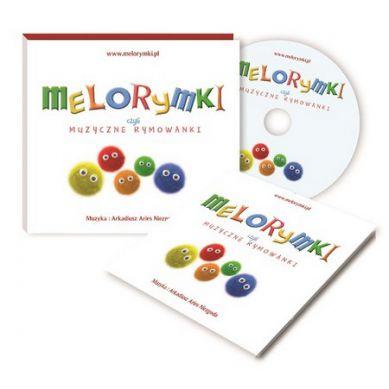 Wydawnictwo Kidimax - Płyta CD z Muzyką dla Dzieci Melorymki