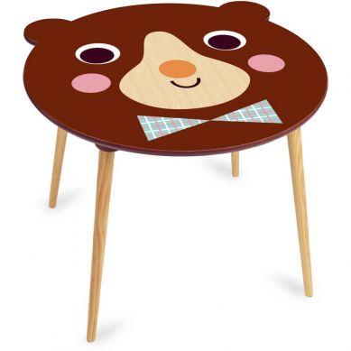 Vilac - Stolik Drewniany dla Dzieci Miś