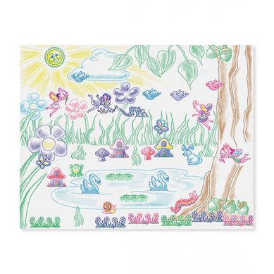 Melissa & Doug - Zestaw Stempelków Fairy Garden