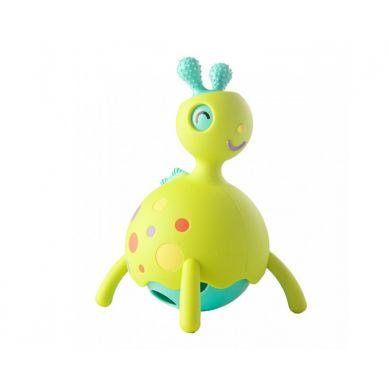 Fat Brain Toys - Gryzak, Grzechotka Wesoły Rollobie Zielony