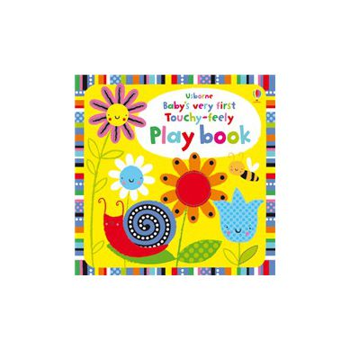Wydawnictwo Usborne Publishing - Baby's Very First Touchy Feely Play Book
