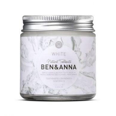 Ben and Anna - Naturalna Wybielająca Pasta do Wrażliwych Zębów z Szałwią i Rokitnikiem 100 ml