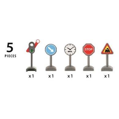 BRIO - World Zestaw Znaków Drogowych