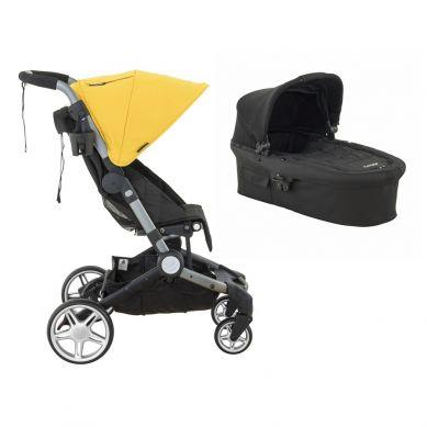 Larktale - Wózek Spacerówka i Gondola w Jednym Coast Clovelly Yellow