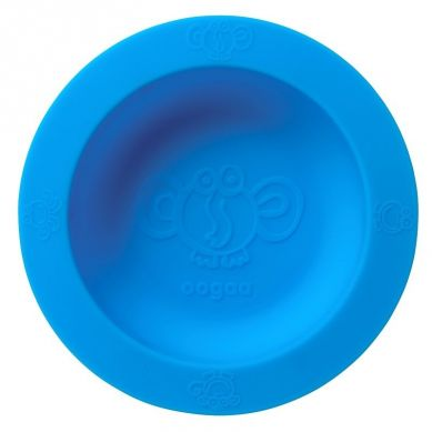 Oogaa - Silikonowa Miseczka z Pokrywką Blue Bowl & Lid