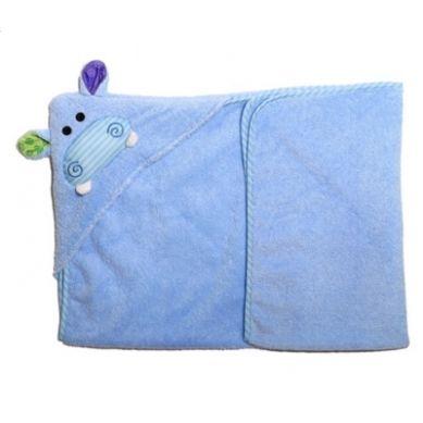Zoocchini - Mały Ręcznik z Kapturem Hippo