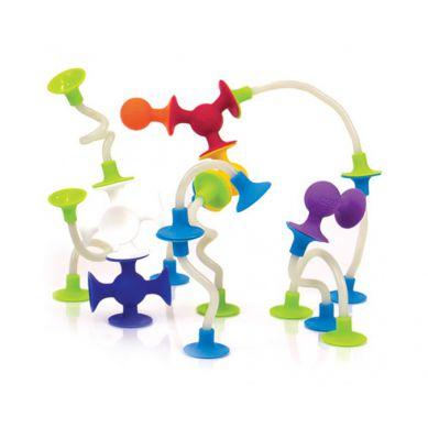 Fat Brain Toys - Przyssawki Benders Squigz 18 elementów