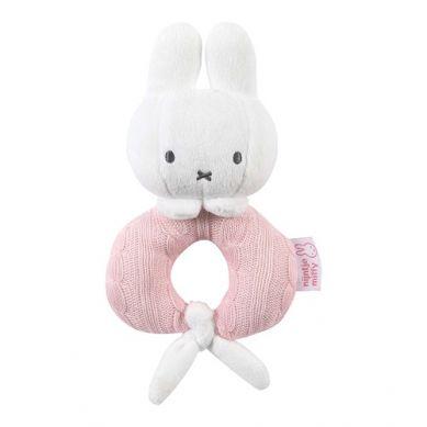 Tiamo - Grzechotka Miffy Różowa