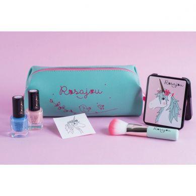 Rosajou - Kosmetyki dla dziewczynki w zestawie Saszetka Zielona