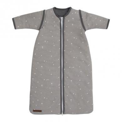 Little Dutch-Śpiworek z odpinanymi rękawkami 90cm Little stars Grey