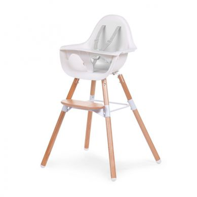 Childhome - Krzesełko Evolu 2 Natural/White