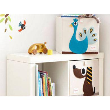 Pudełko na Zabawki Nosorożec 3 Sprouts