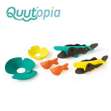 Quut - Zestaw Puzzli Piankowych 3D Quutopia Krokodyle