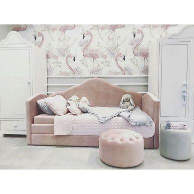 Bonbonkids - Pufa Basso Różowa