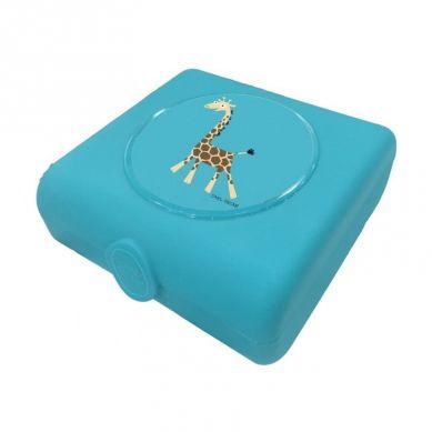 Carl Oscar - Kids Sandwich Box Pojemnik na Przekąski i Kanapki Turquoise Giraffe