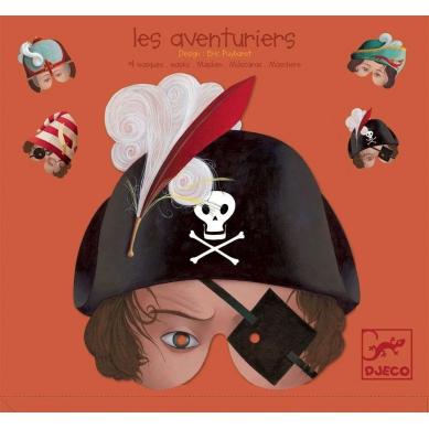 Djeco Maski Piratów