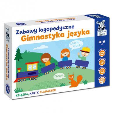 Kapitan Nauka - Zabawy Logopedyczne Gimnastyka Języka 3+
