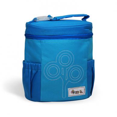 ZoLi - Termotorba Lunchbox Nomnom Niebieska