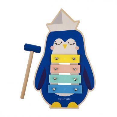 Sunnylife - Drewniany Ksylofon Penguin