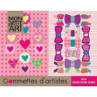 Mon Petit Art Książeczka z Naklejkami Pop