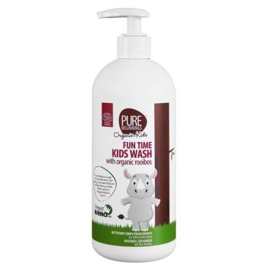 Pure Beginnings Organic Kids - Bąbelkowy Żel do Mycia Ciała z Organicznym Rooibosem 500ml